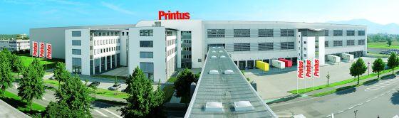 Das Logistik- und Verwaltungszentrum der Printus GmbH in Offenburg.