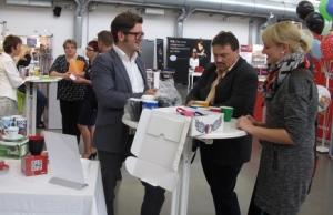 107 Besucher von 53 Unternehmen ließen sich im letzten Jahr im Vogel Convention Center Würzburg ausführlich beraten
