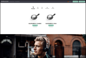 tradeconthor website - Tradeconthor: Neuer Online-Konfigurator