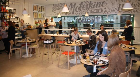 Moleskine-Café in Hamburg eröffnet