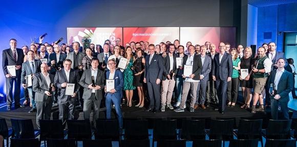 german innovation award gewinner - Auszeichnung für Karl Knauer und Rastal