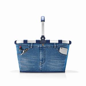 BK4063 carrybag jeans reisenthel Print FA 01 - Hat beim Shoppen immer die Hosen an
