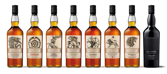 Tastillery Game of Thrones Whisky Range - Whiskys aus Westeros