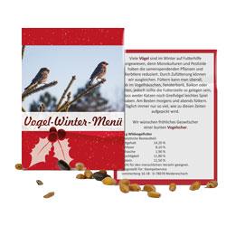 Pressebild vogelfuttertuettchen - Durch den Winter