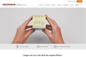 touchmore v - Touchmore: Neue Website