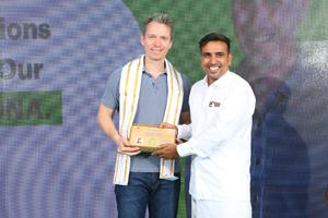 Mathias Diestelmann und Ganesh Anantharaman - Brands Fashion eröffnet Green Factory
