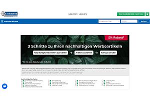 Screenshot hagemann - Neuer Webshop für nachhaltige Produkte